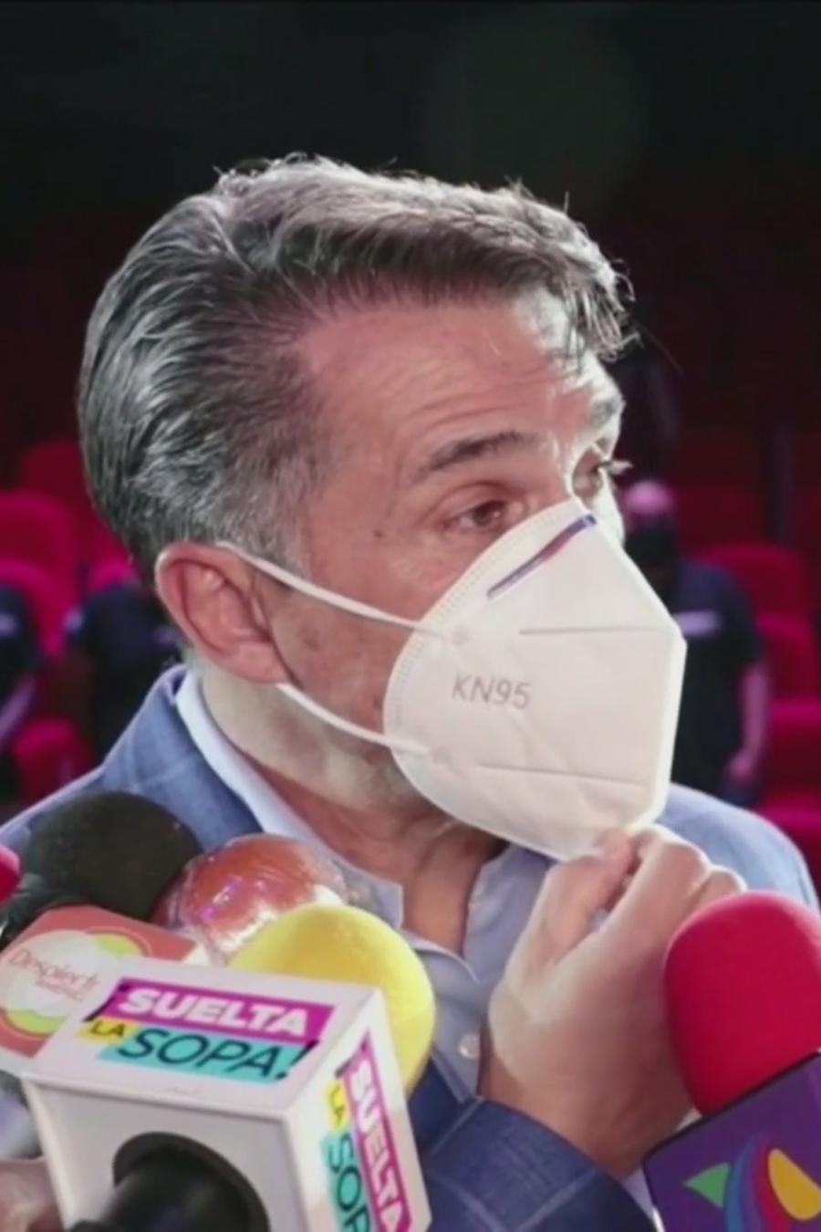 Sergio Mayer listo para reabrir los teatros en México