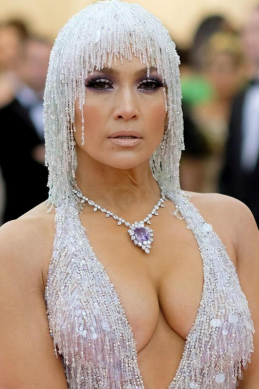 Jennifer Lopez en la MET Gala