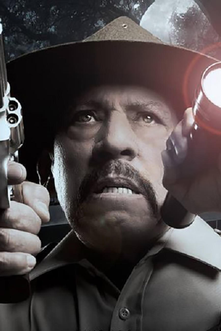 "Trailer for ""Murder in The Woods"": Danny Trejo Stars In an All-Latinx Slasher Flick"