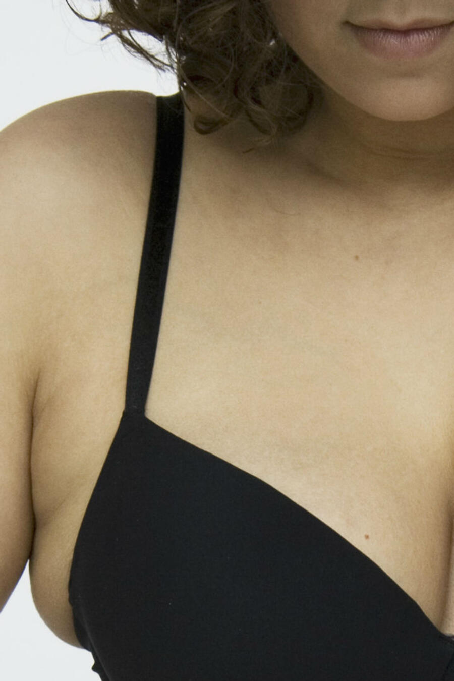 Mujer en ropa interior