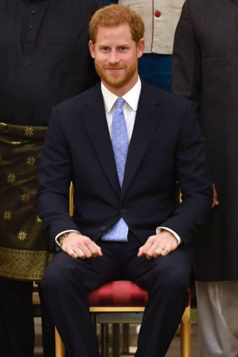 Meghan Markle, el príncipe Harry y la reina Elizabeth