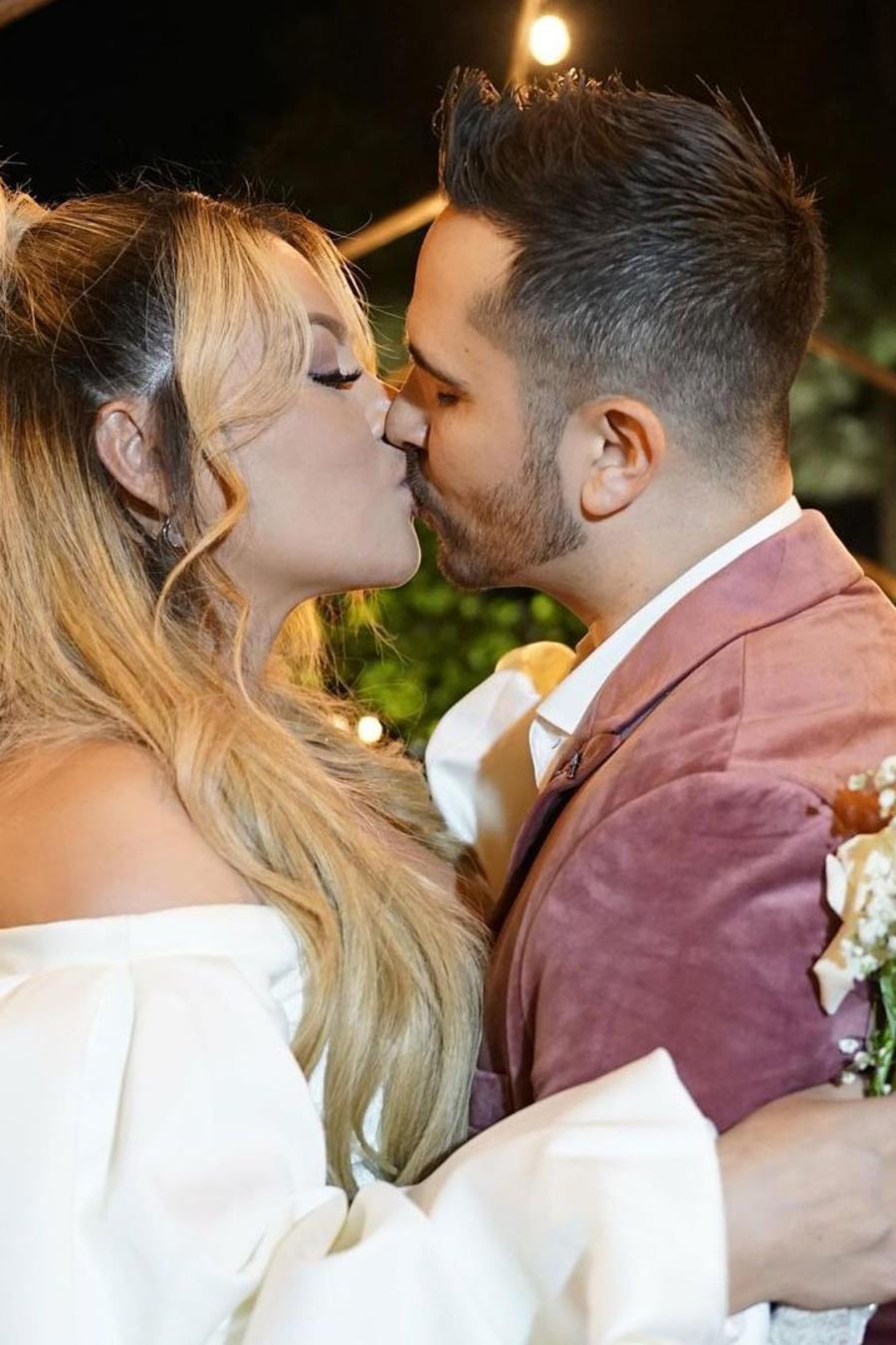 Helen Ochoa y esposo