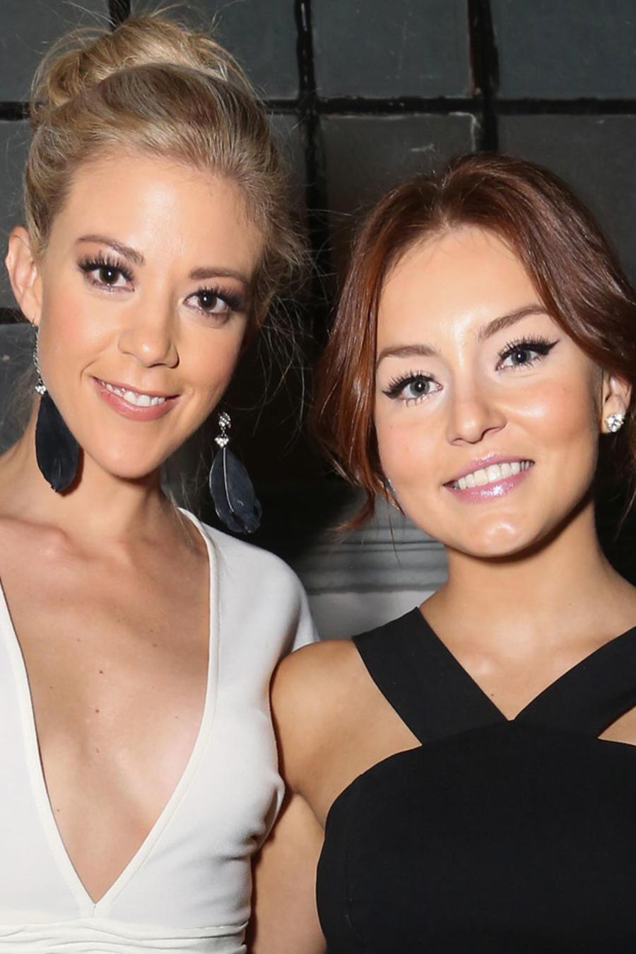 Fernanda Castillo y Angelique Boyer