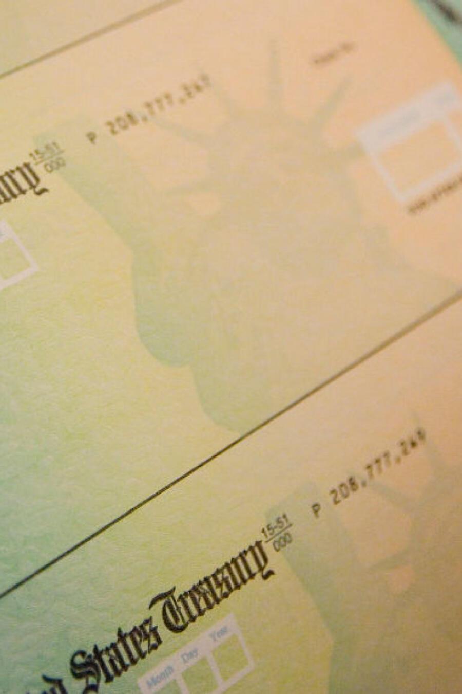 Cheque estímulo fiscal