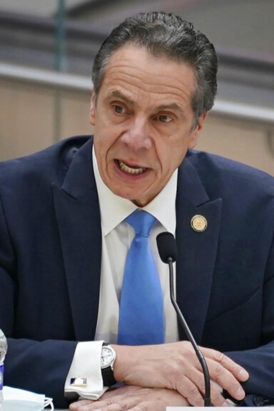 Andrew Cuomo Gobernador del Estado de Nueva York