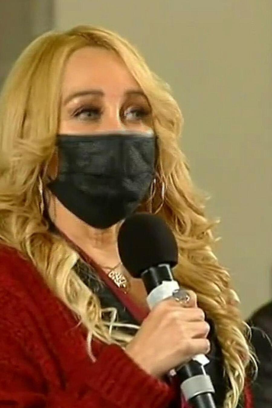 Sandra Aguilera reportera mexicana