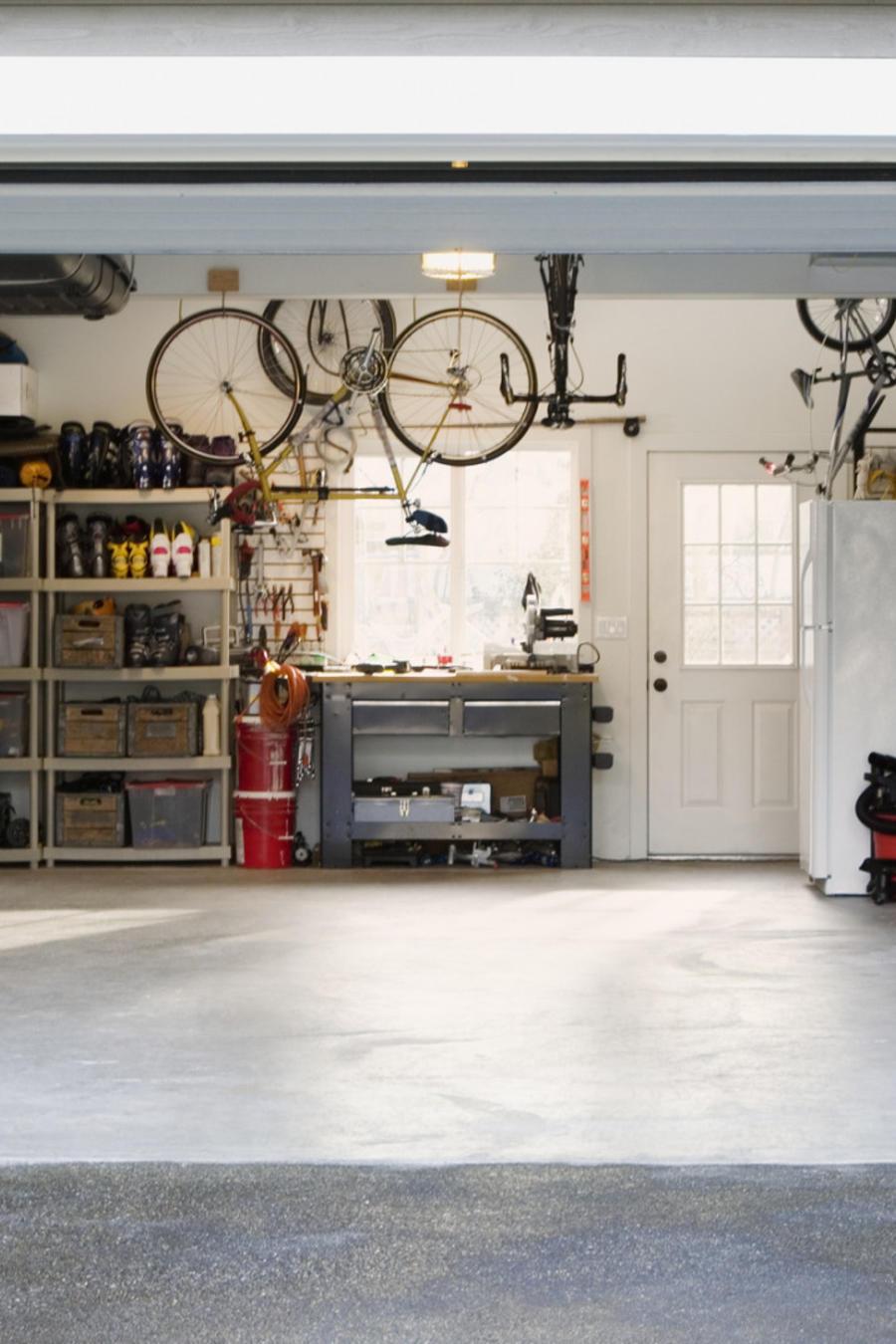 Garage organizado