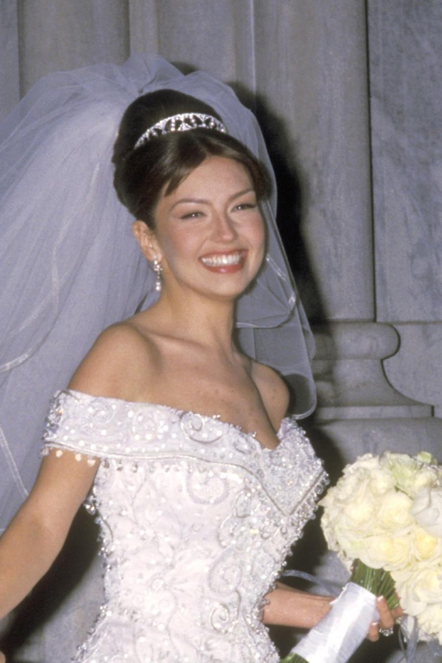 Thalía y Tommy Mottola boda