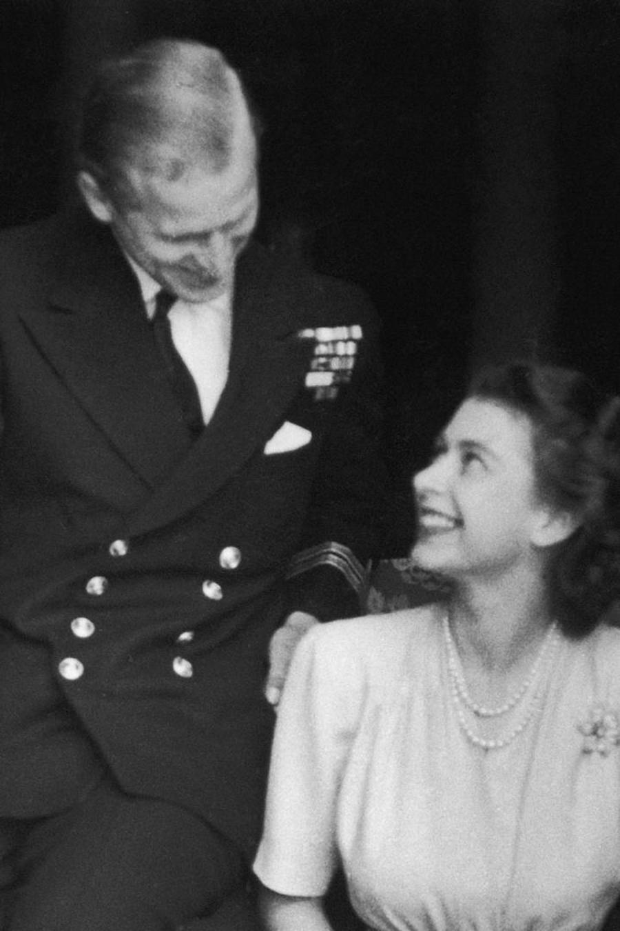 La reina Elizabeth II y el príncipe Philip