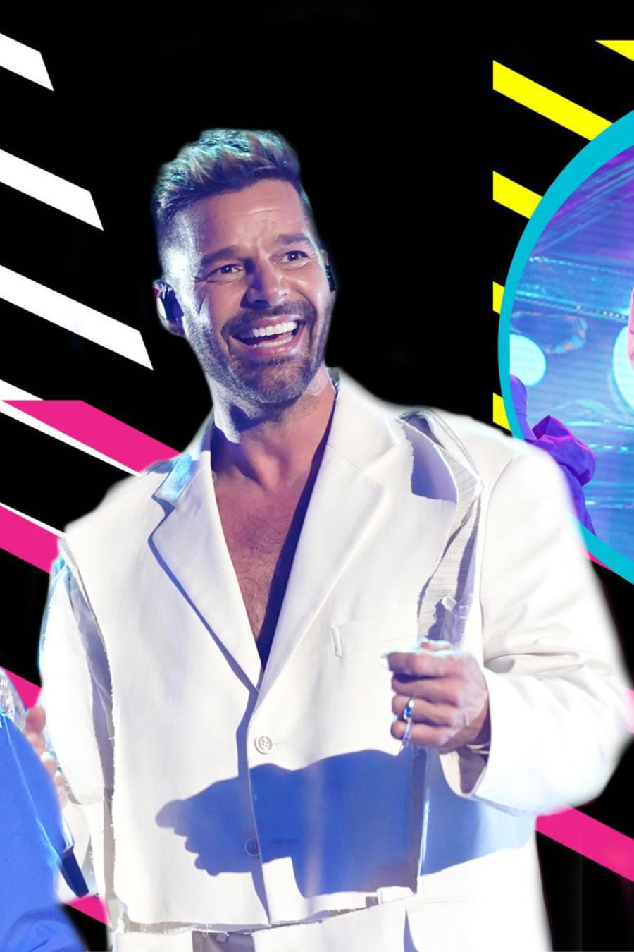 Ricky Martin, Karol G y Ozuna conquistan los Latin AMAs 2021