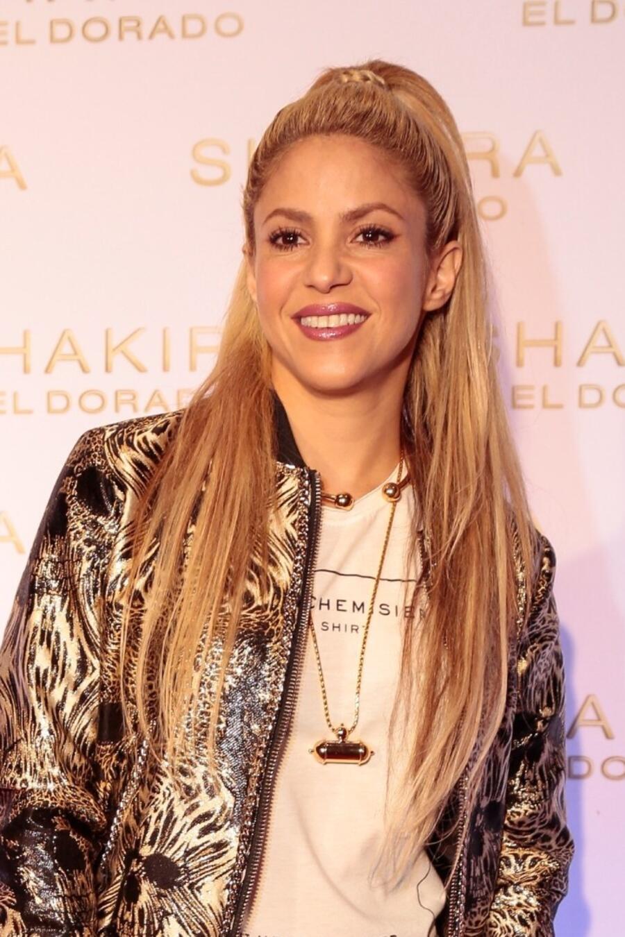 Shakira presenta su álbum El Dorado en Barcelona
