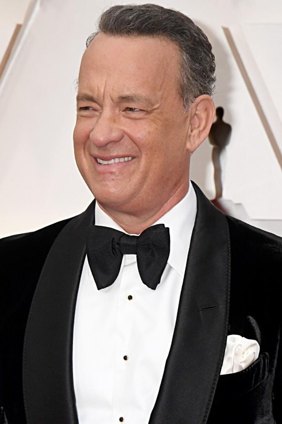 Tom Hanks asiste a los 92o Premios anuales de la Academia en Hollywood en febrero 2020