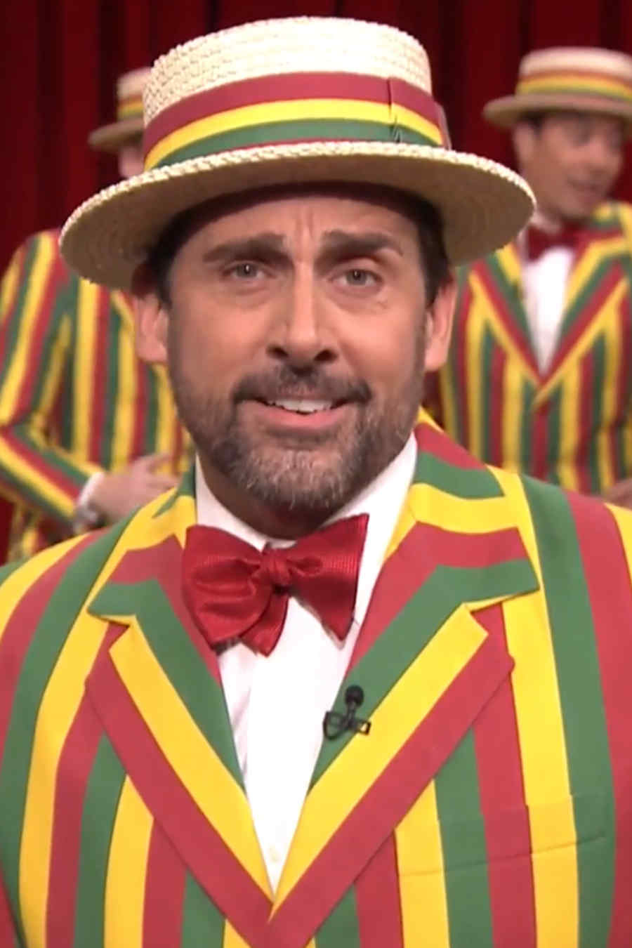"Steve Carell canta junto a ""The Ragtime Gals"","