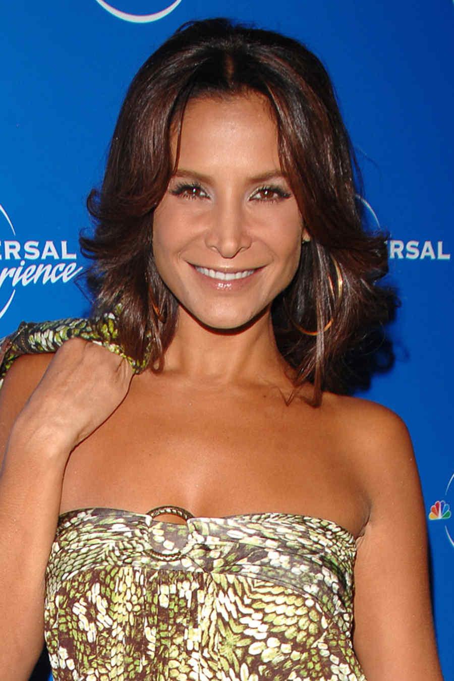 Lorena Rojas en el Upfront de NBC 2008