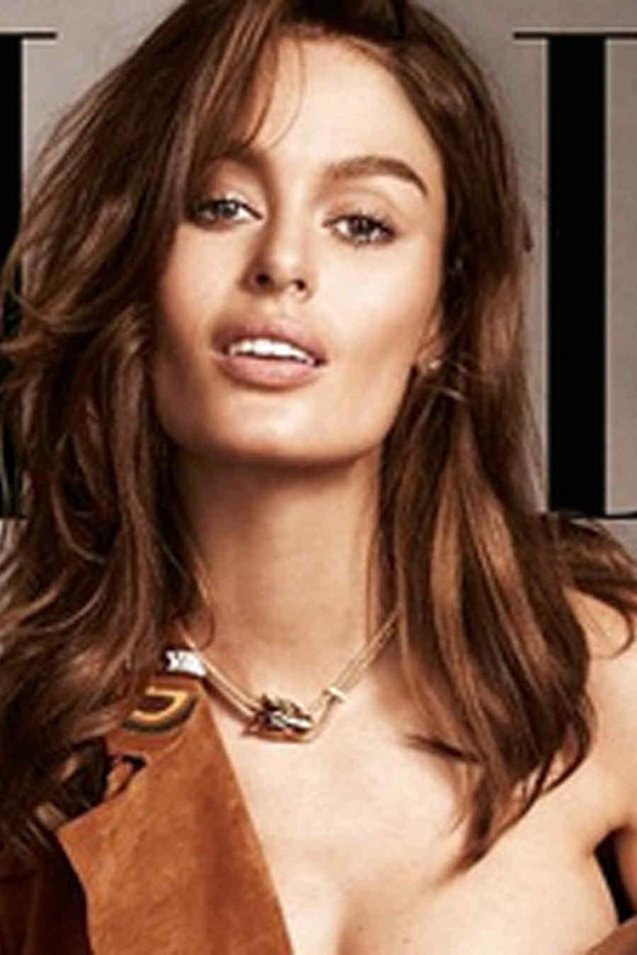 Nicole Trunfio en la portada de 'Elle'