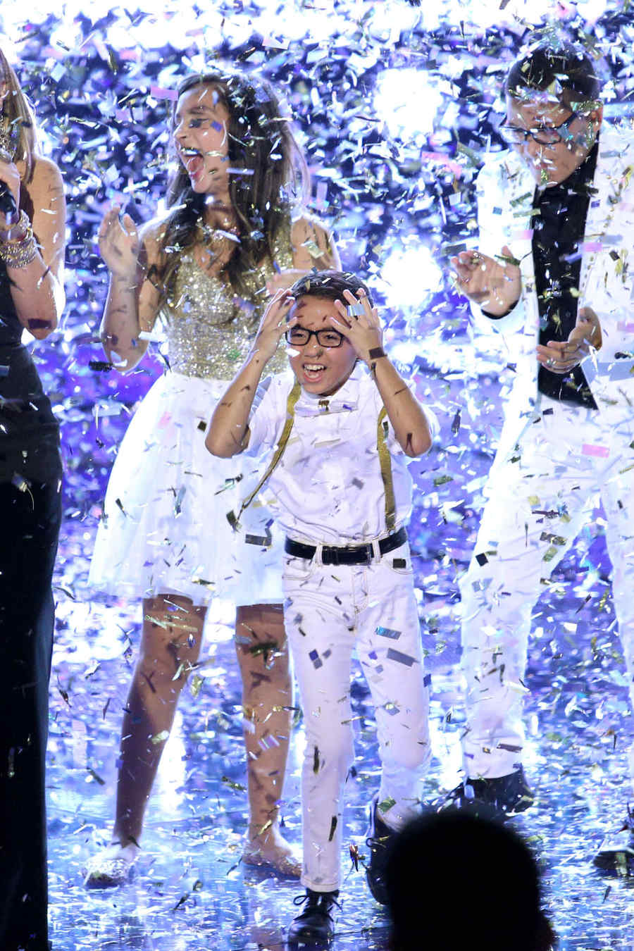 jonael santiago, momento ganador, la voz kids