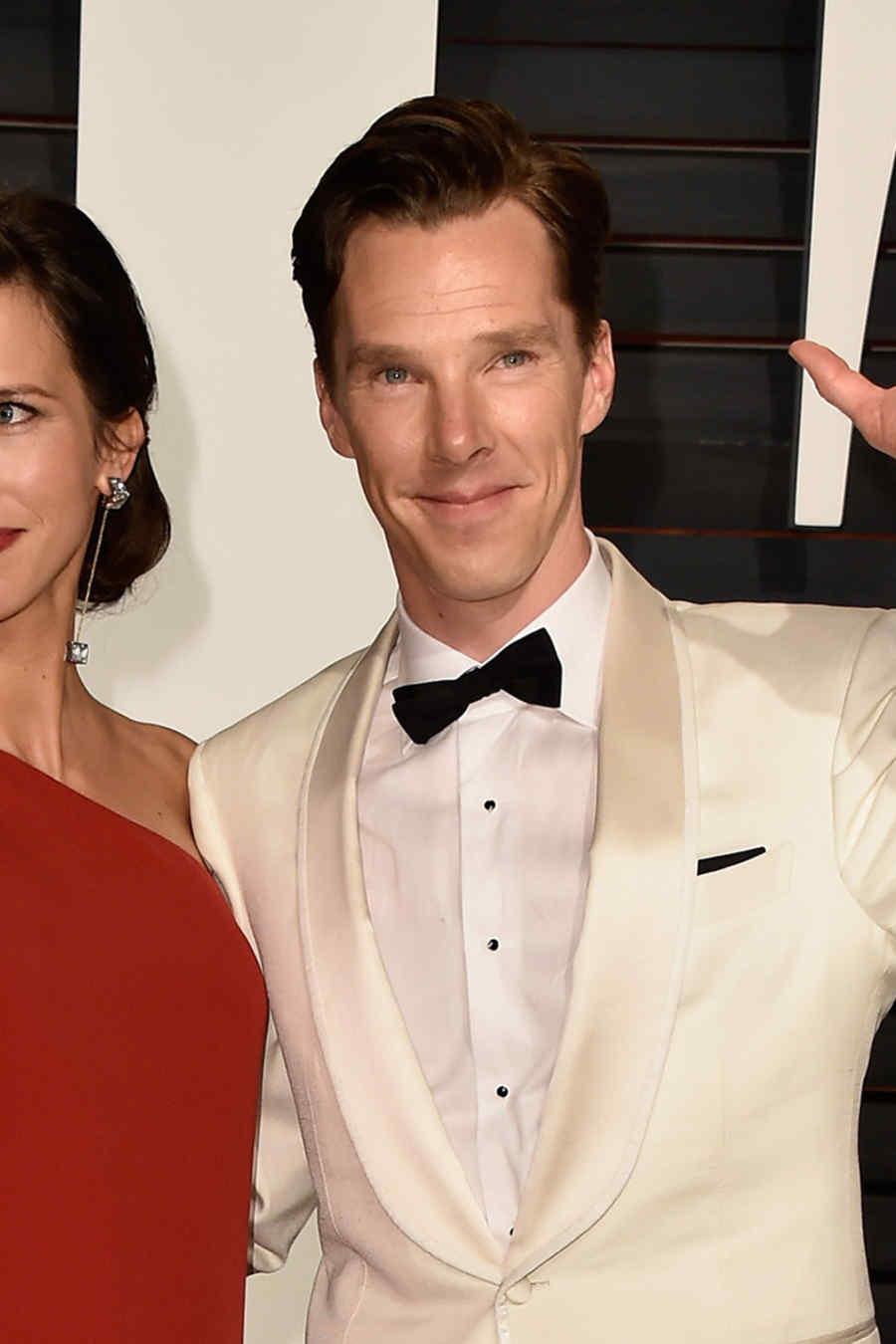 Sophie Hunter y Benedict Cumberbatch.