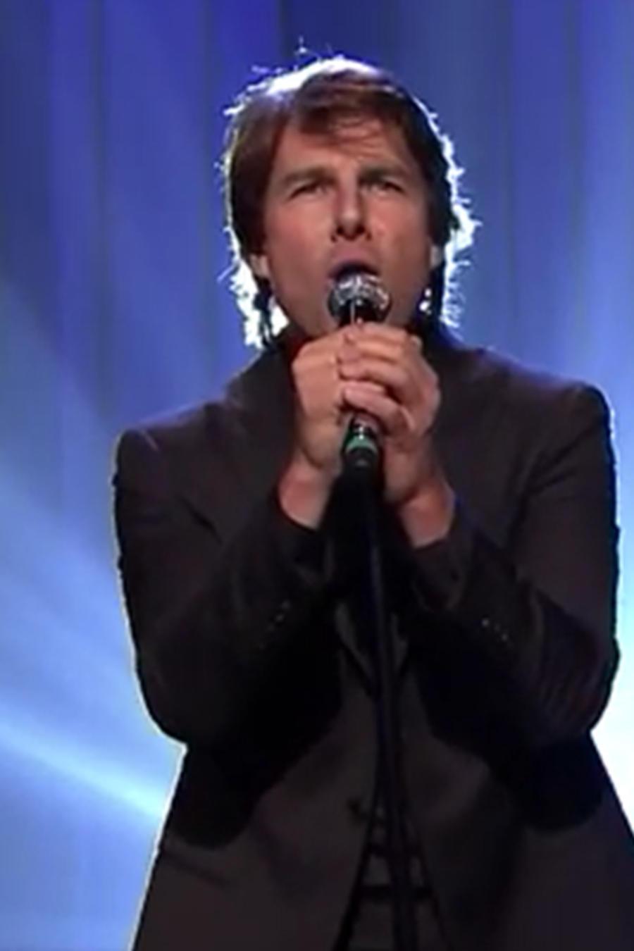 Batalla de canto entre Tom Cruise y Jimmy Fallon