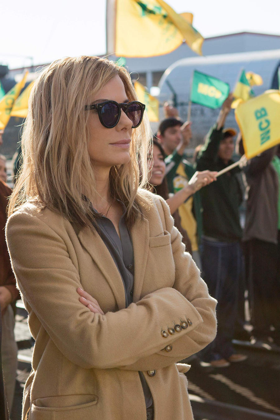 "Sandra Bullock en la película ""Our Brand is Crisis"""