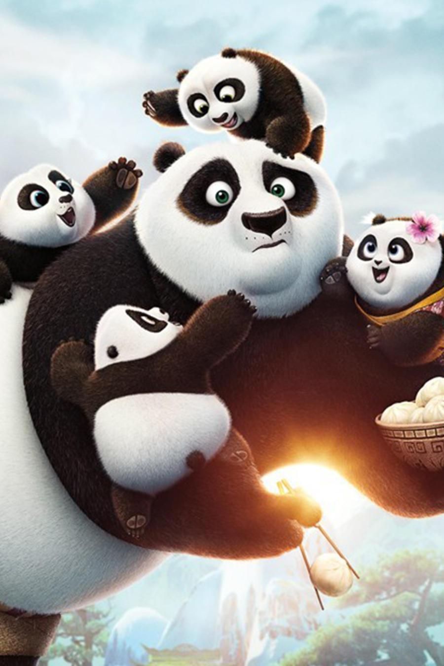 "Foto de la película ""Kung Fu Panda 3""."