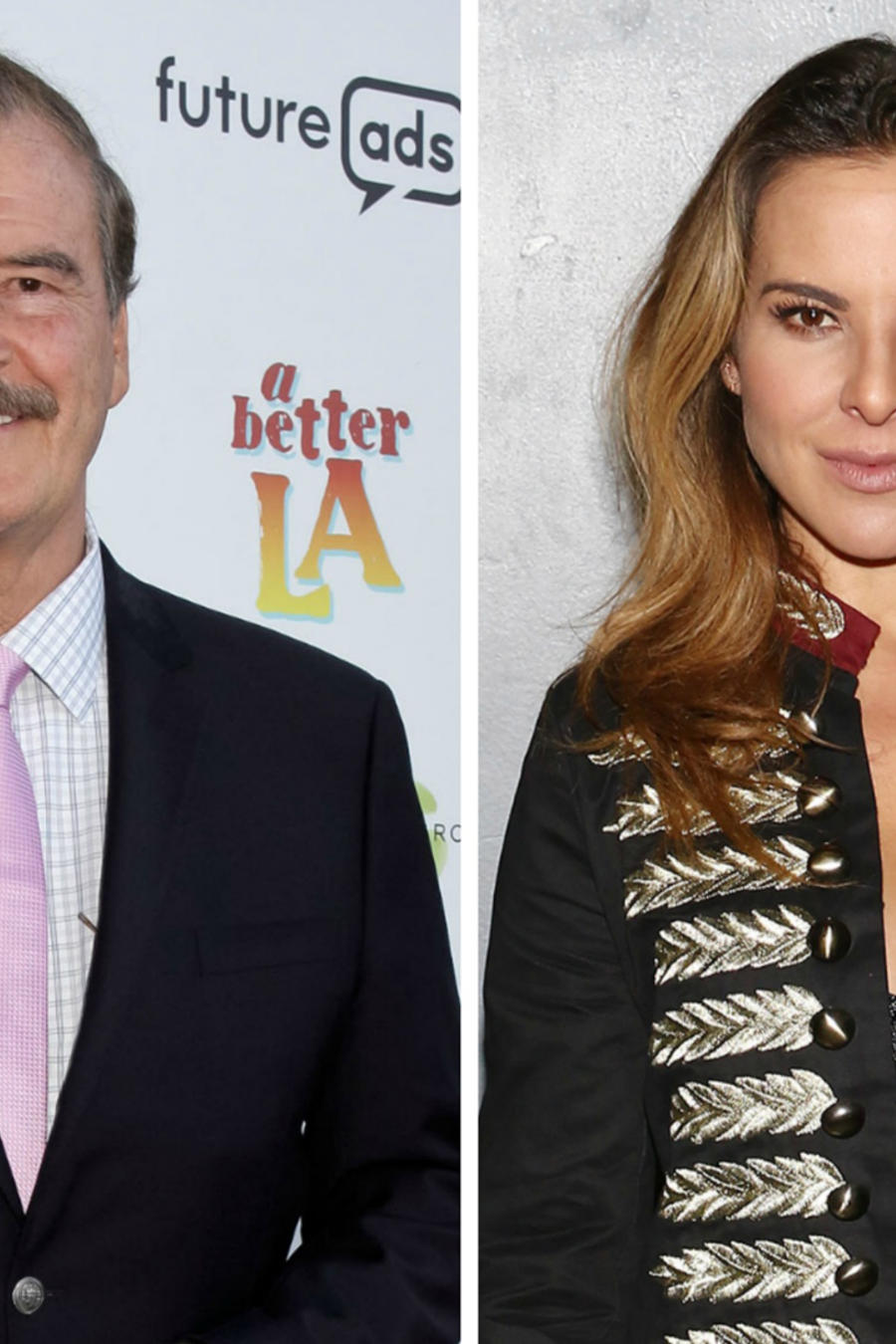 Vicente Fox y Kate del Castillo
