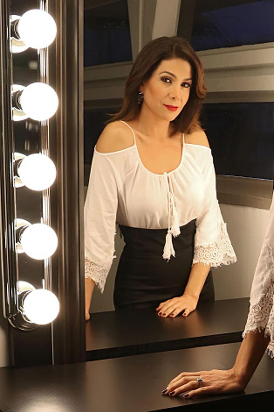 Patricia Manterola Suelta La Sopa Backstage 2016
