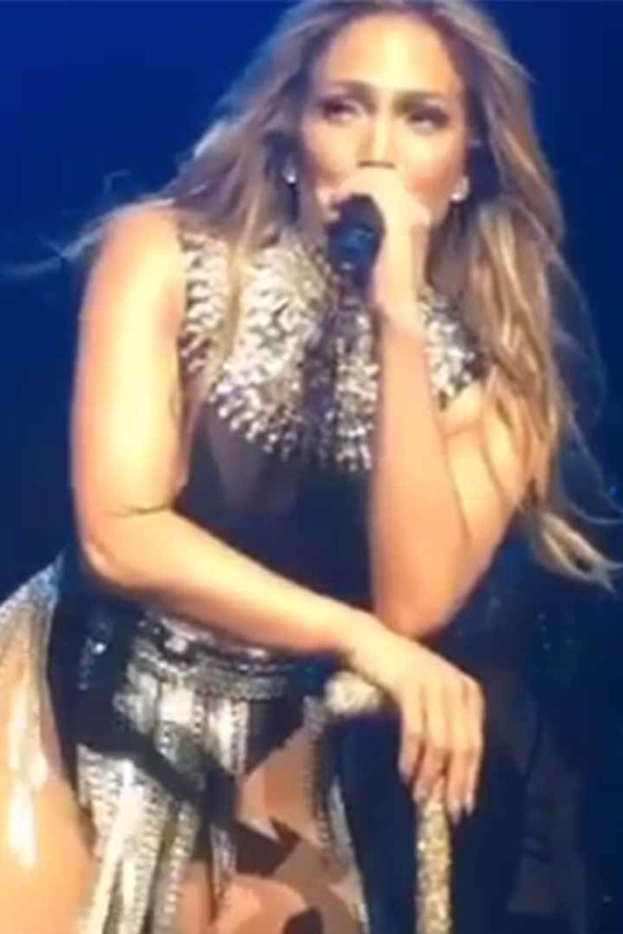 Jennifer Lopez en concierto de Telemundo