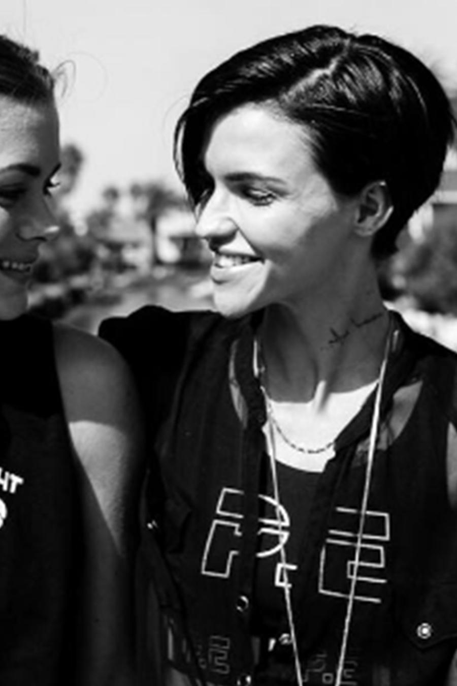 Ruby Rose y Harley Gusman