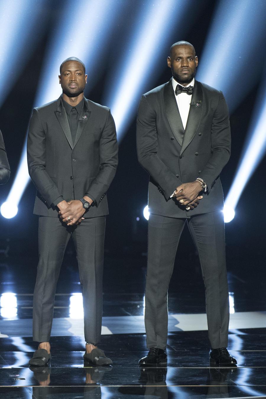 ABC's Coverage of The 2016 ESPYS: LeBron James, Carmelo Anthony, Chris Paul y Dwyane Wade