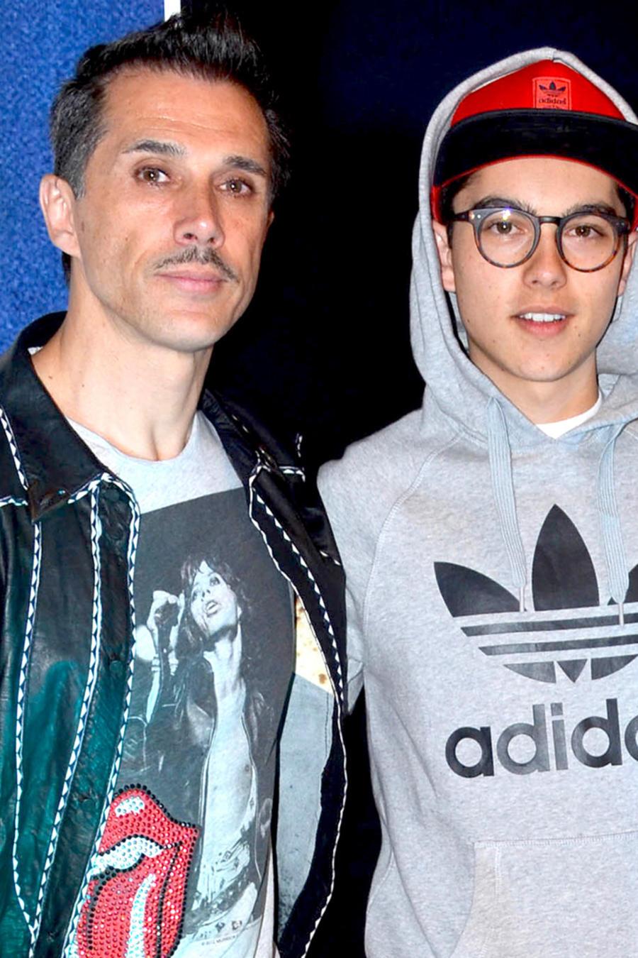 Sergio Mayer y Sergio Mayer Mori