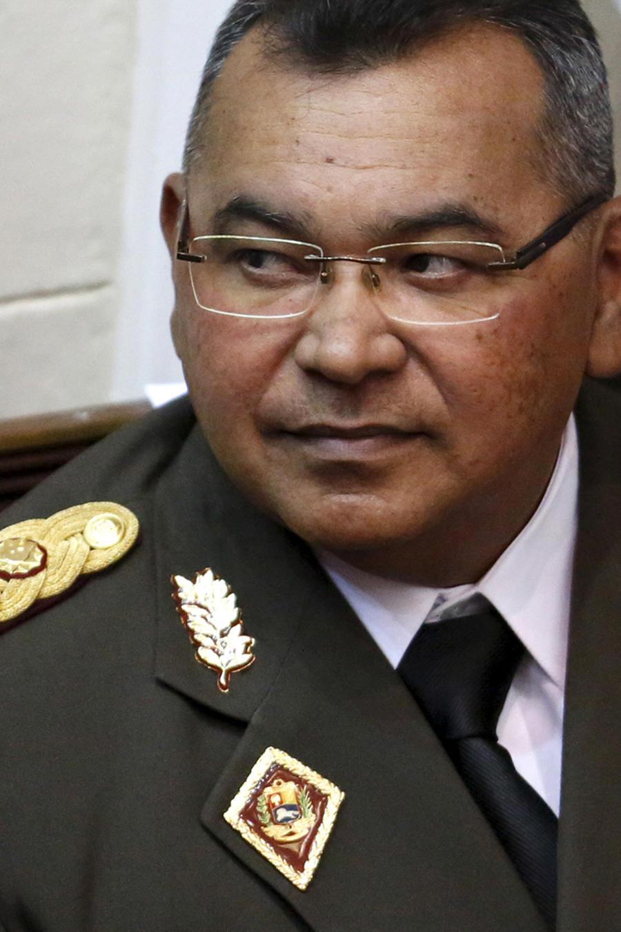 Néstor Luis Reverol, exdirector de la Oficina Nacional Antidrogas de Venezuela