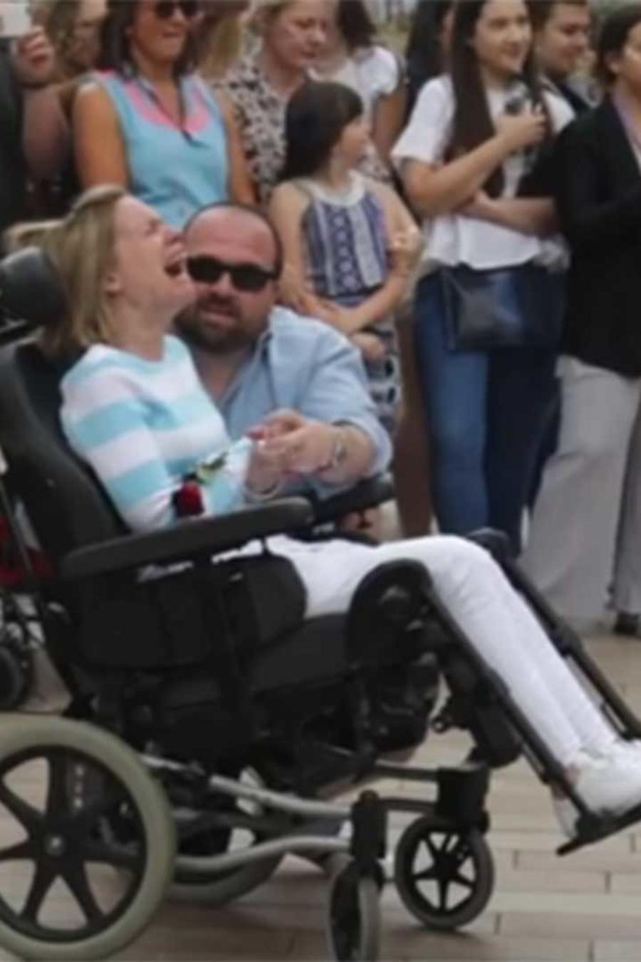 carl gilbertson y su esposa