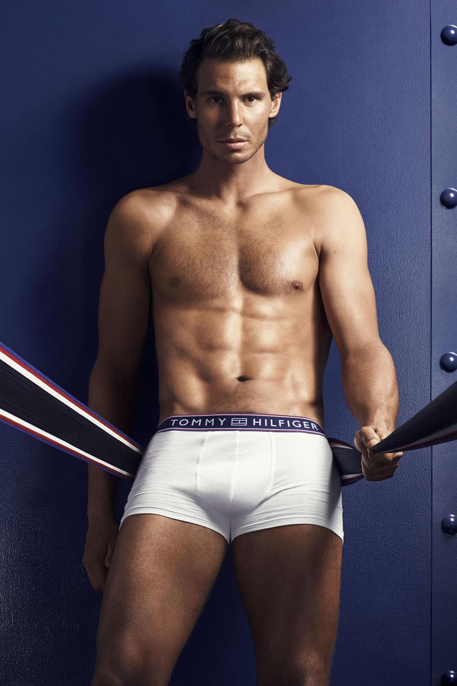 Rafael Nadal en la campaña de Tommy Hilfiger
