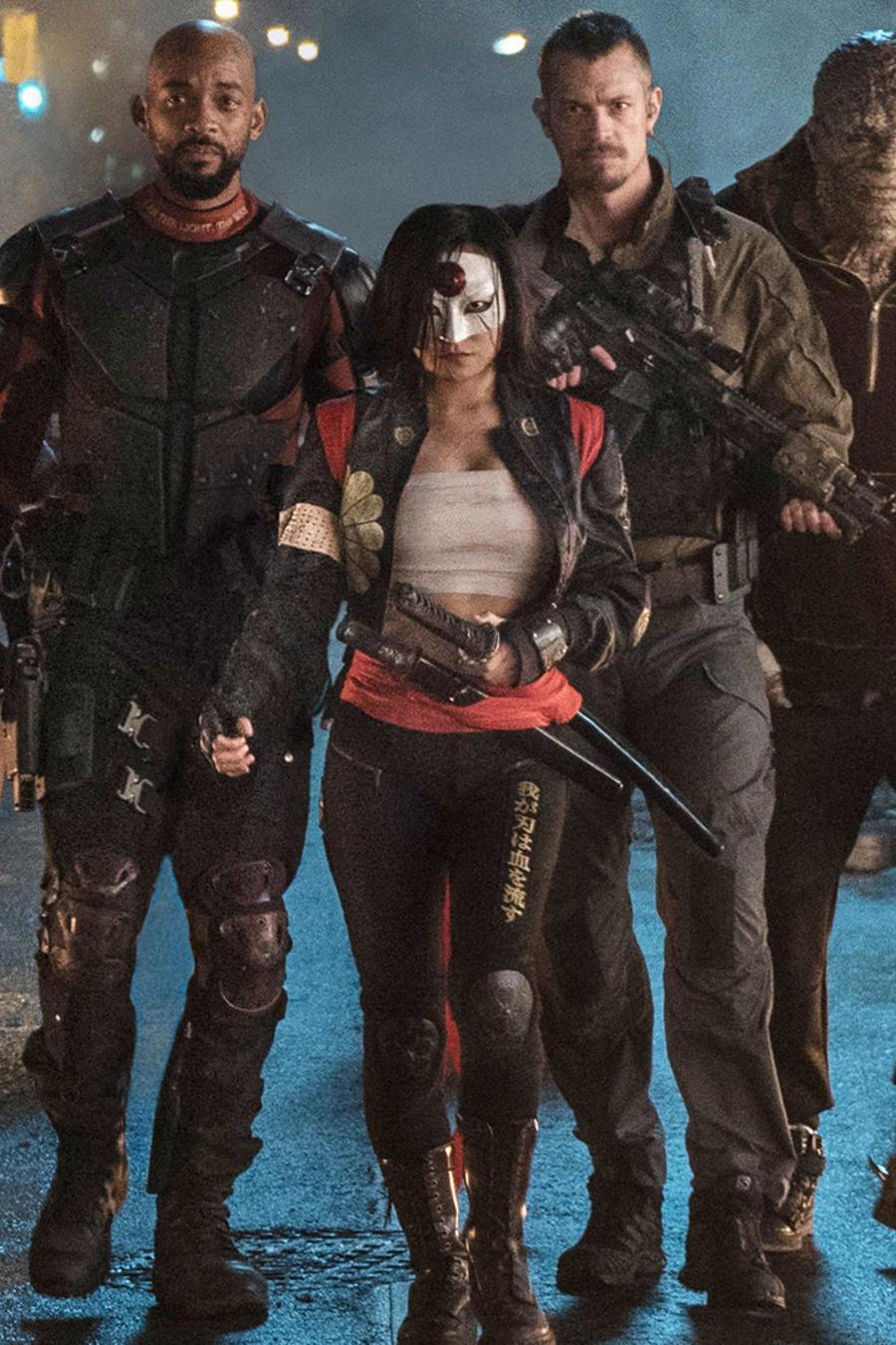 """Los villanos de """"Suicide Squad""""."""