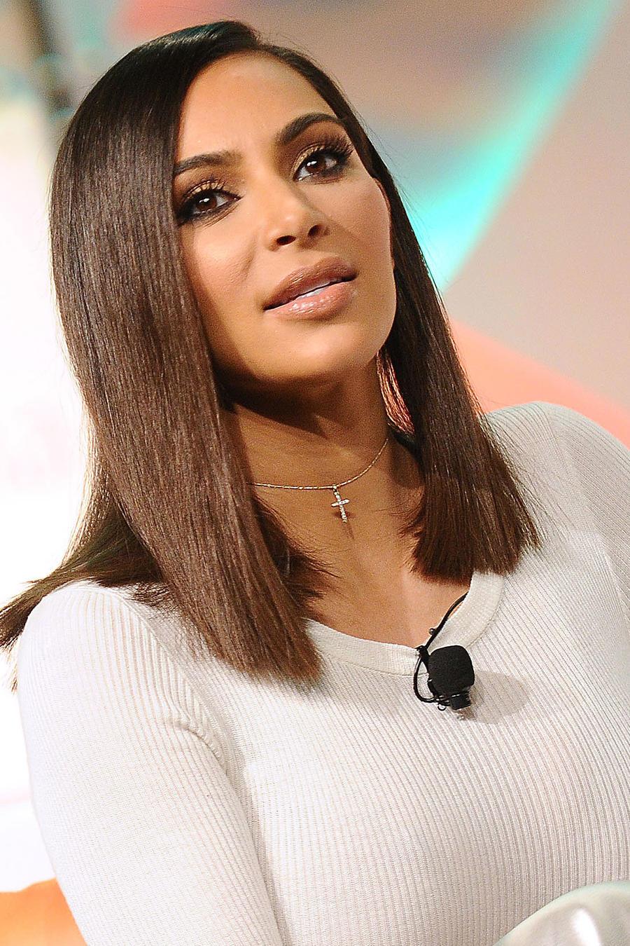 Kim Kardashian en la conferencia #BlogHer16