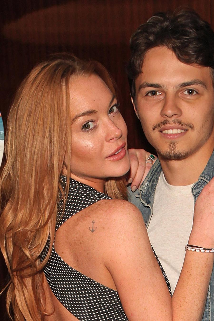 Lindsay Lohan sufre agresión a manos de su exprometido Egor Tarabasov