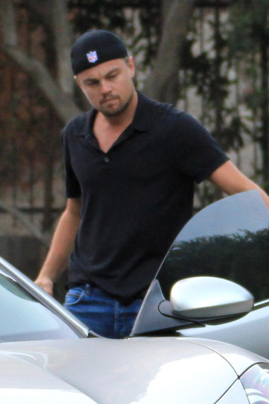 Leonardo DiCaprio y Nina Agdal sufren un accidente automovilístico en los Hamptons