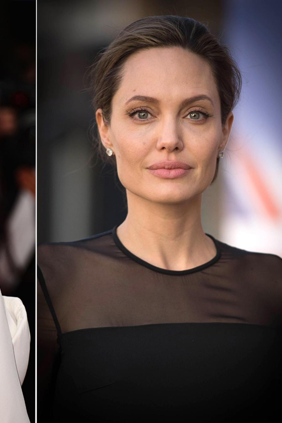 Marion Cotillard , Angelina Jolie y Brad Pitt