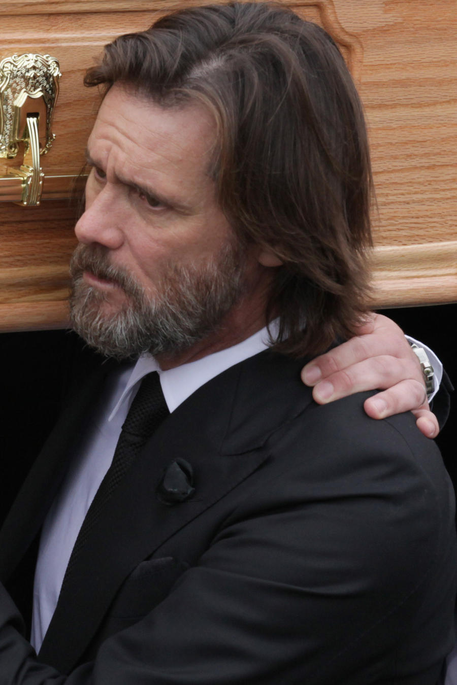 Jim Carrey The Funeral of Cathriona White