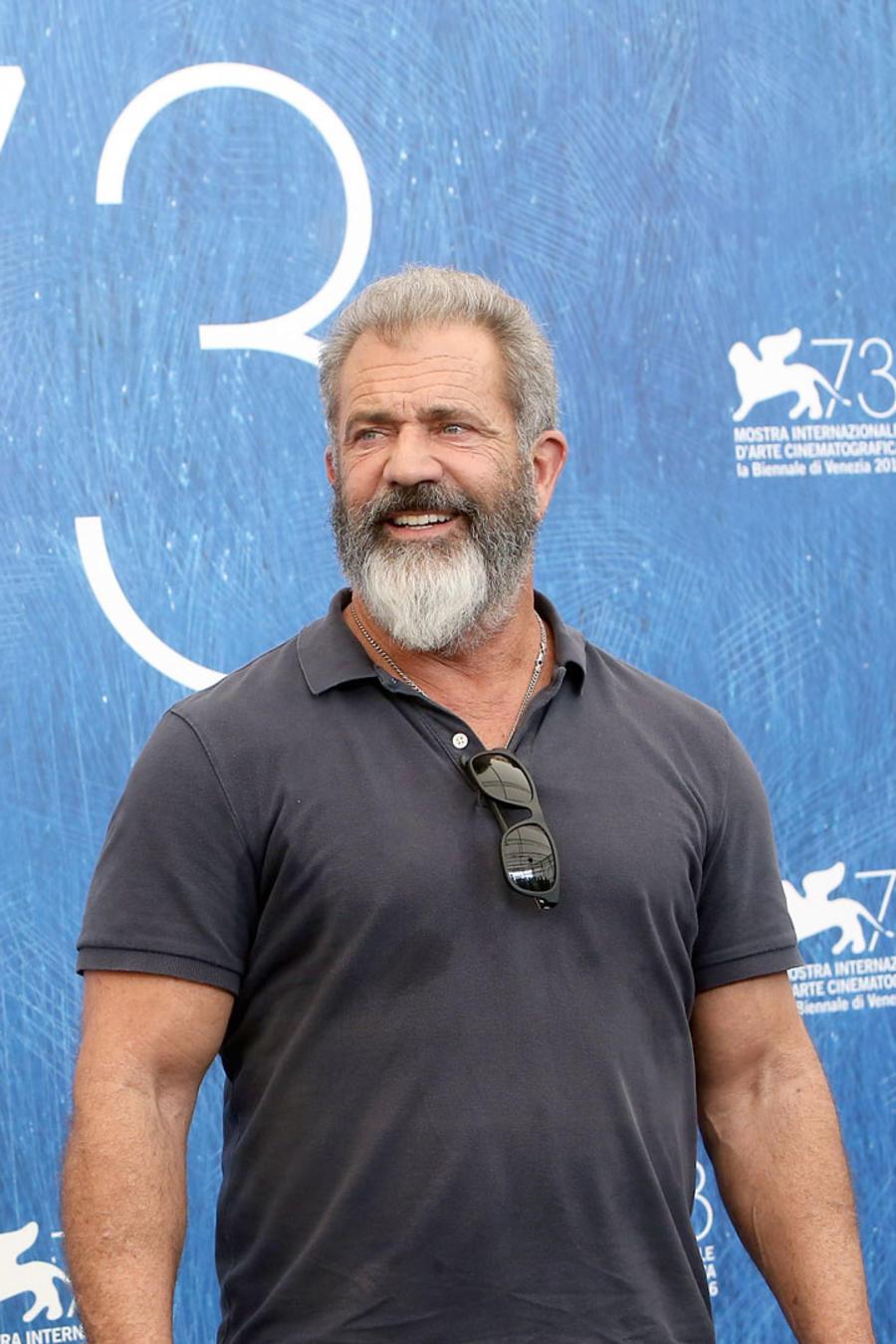 Mel Gibson en el Festival de Cine de Venecia