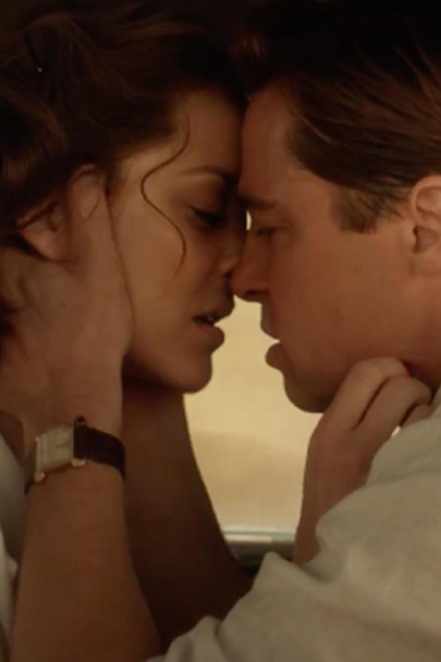 """Brad Pitt y Marion Cotillard en el nuevo tráiler de la película """"Allied"""""""