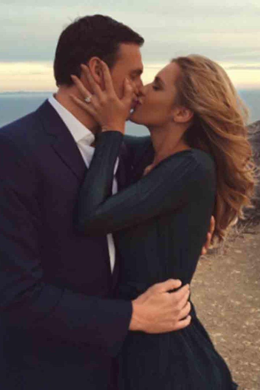 Ryan Lochte y Kayla Rae Reid