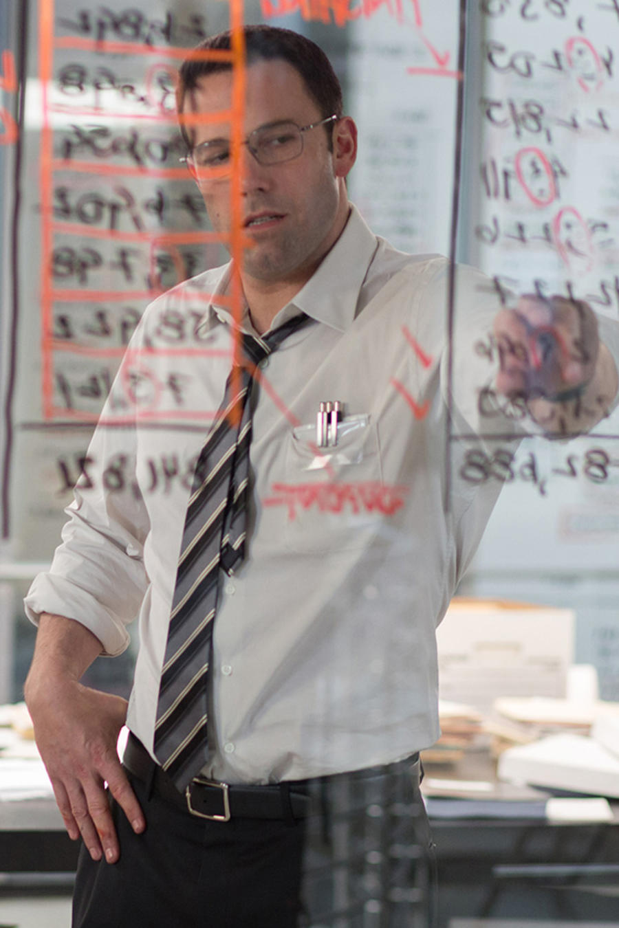 "Ben Affleck en ""The Accountant""."
