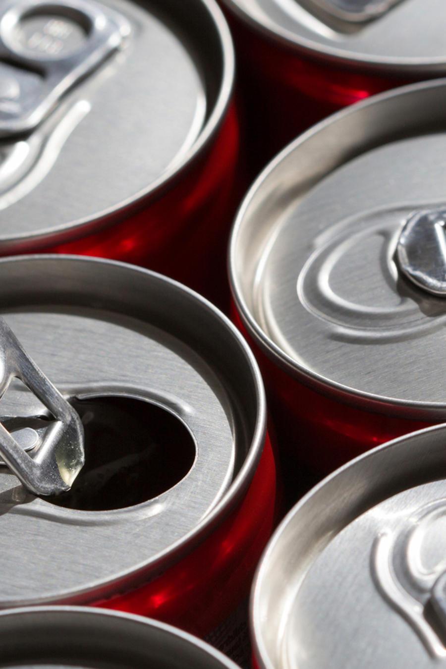 latas de soda