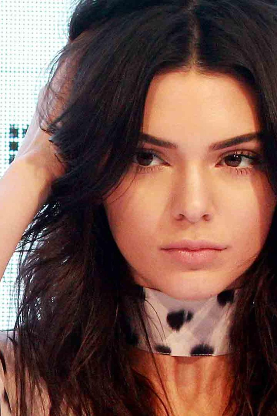 Kendall Jenner en Westfield Parramatta, Australia
