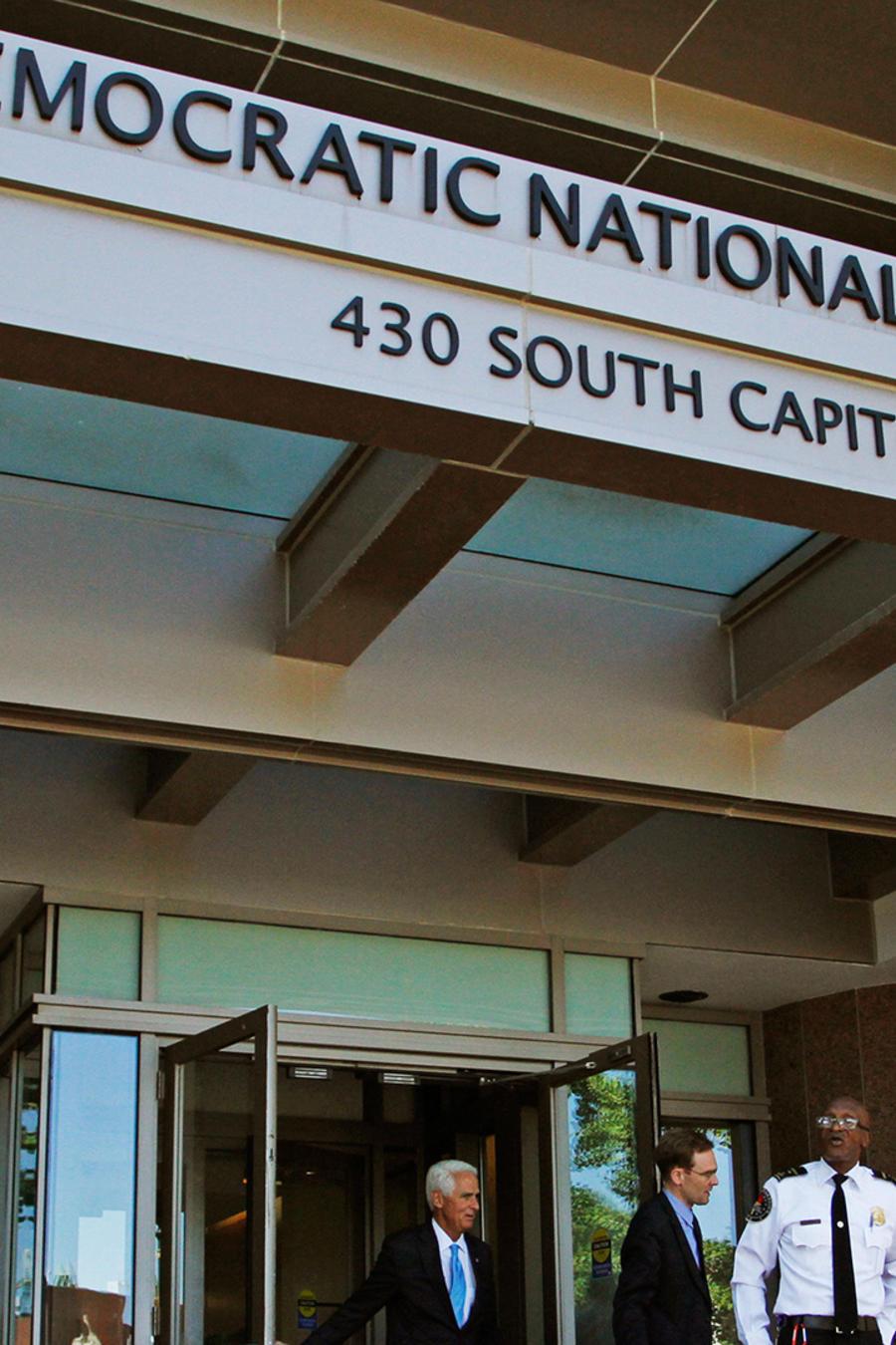 Sede del Comité Nacional Demócrata en Washington D.C.