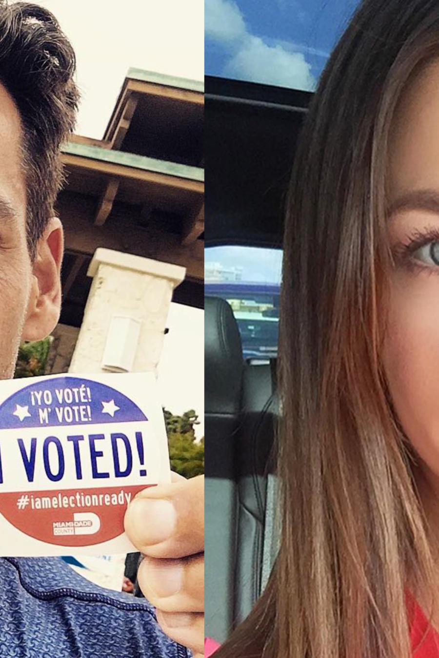 Actores que votaron USA, Ximena Duque, Christian de la fuente