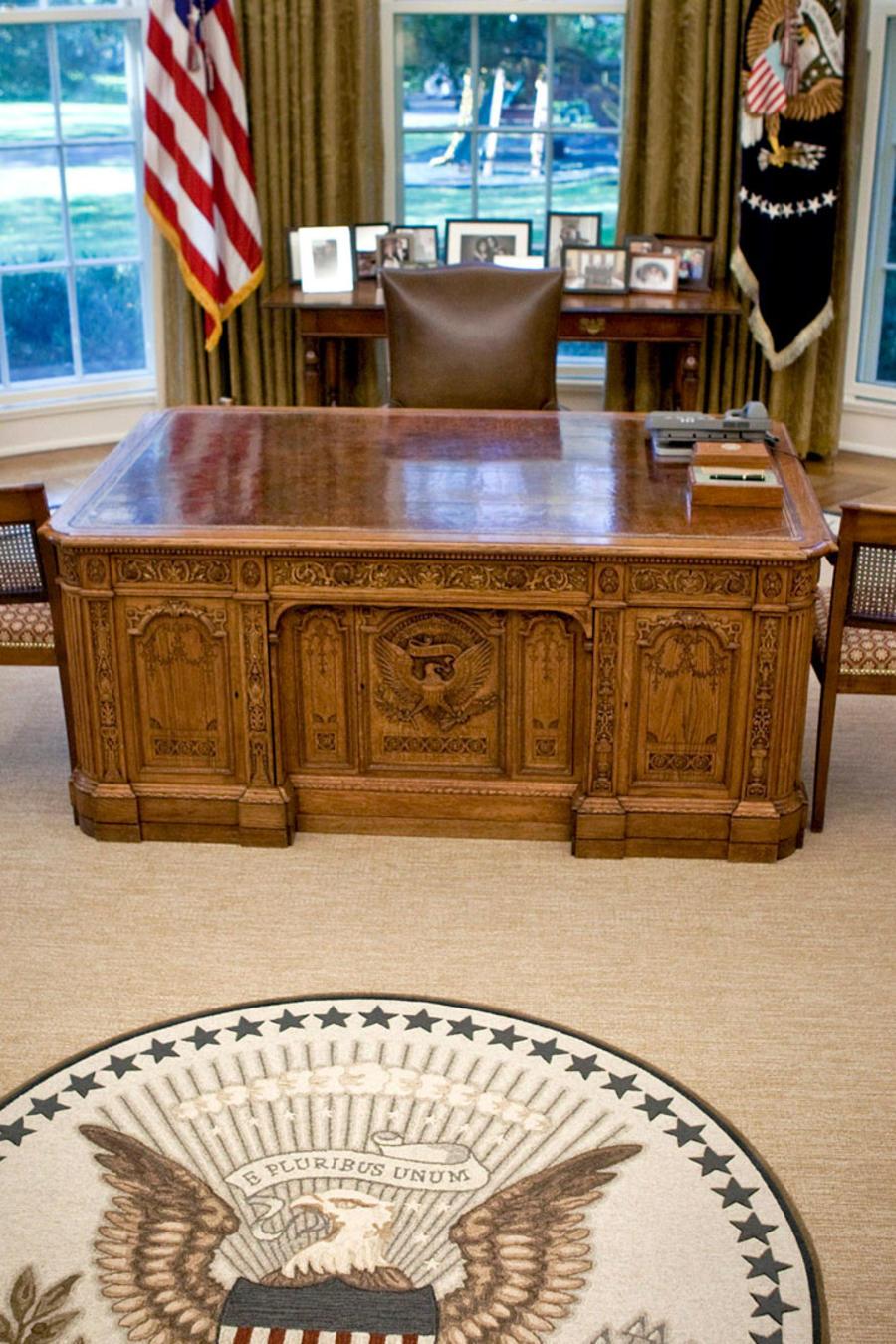 Escritorio del Presidente de EEUU, en el Despacho Oval