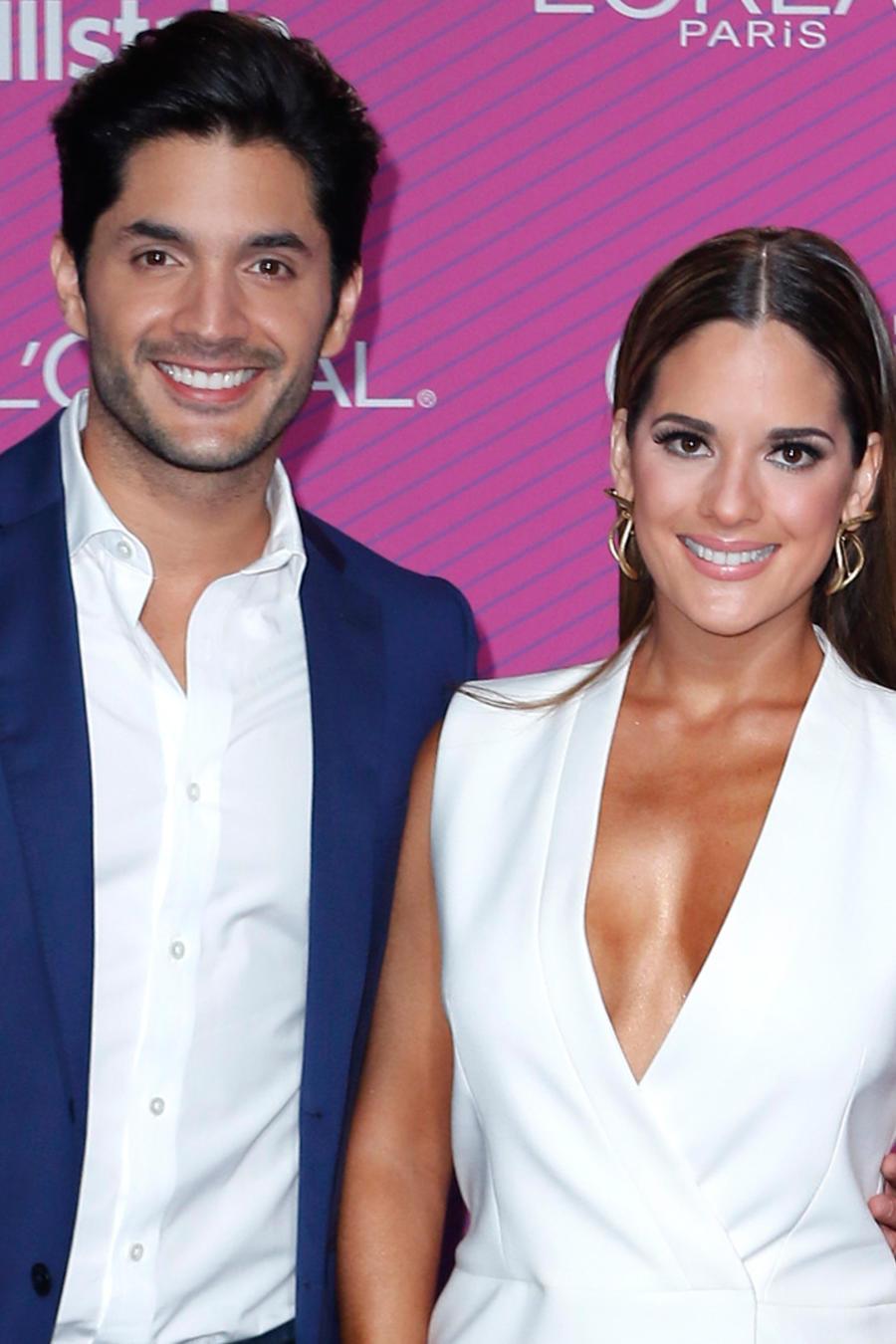 Sabrina Seara y Daniel Elbittar