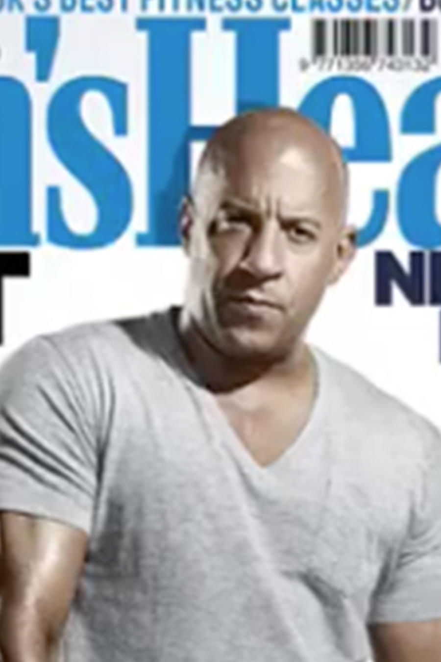 """Vin Diesel protagoniza la portada de la revista """"Men´s Health"""""""